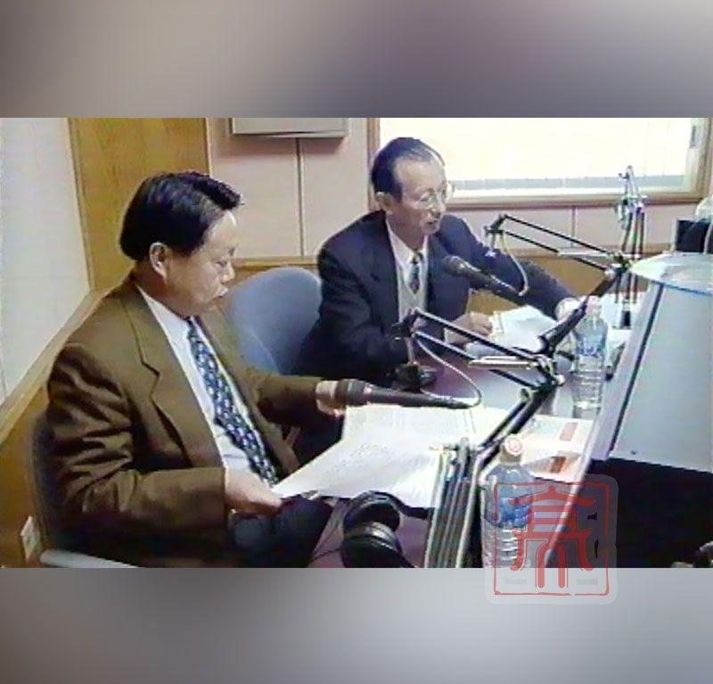 北京结核病胸部肿瘤研究所所长端木宏谨作客中央人民广播电台